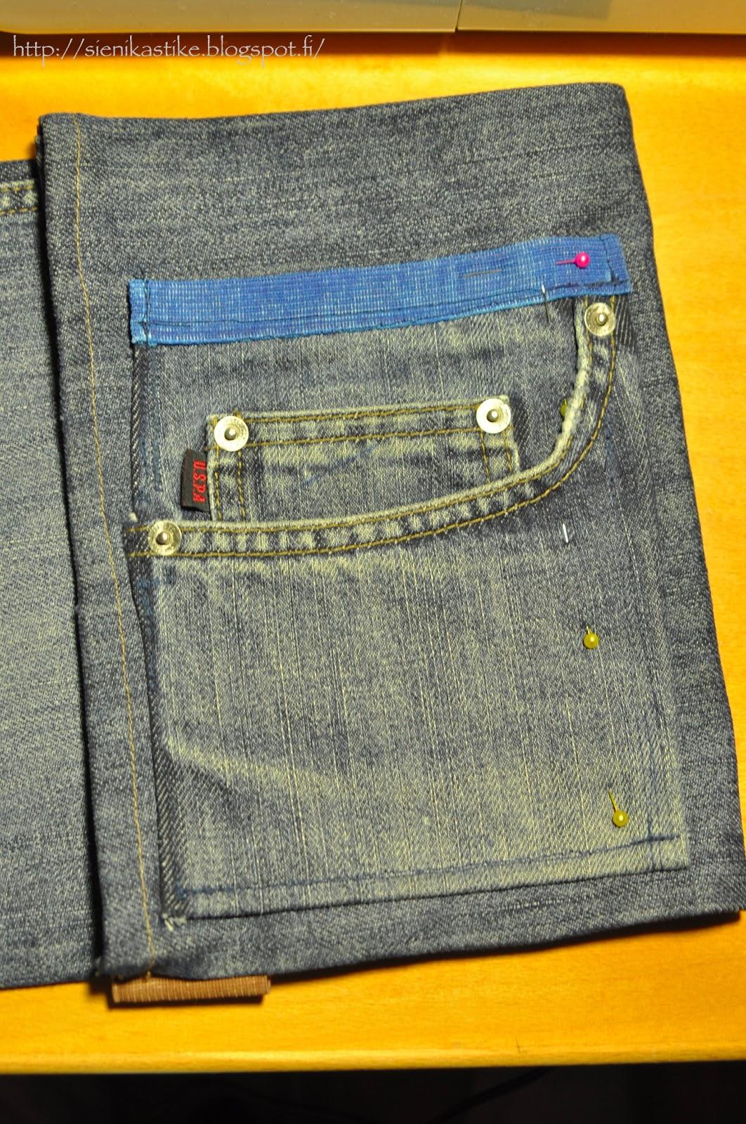 Как сшить сумку чемодан из джинс