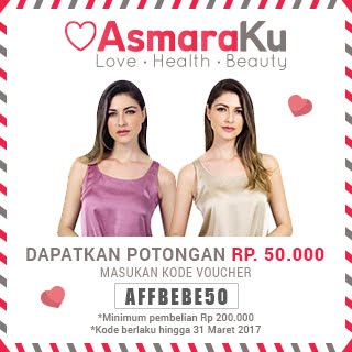Get IDR 50.000 Off on asamaraku.com