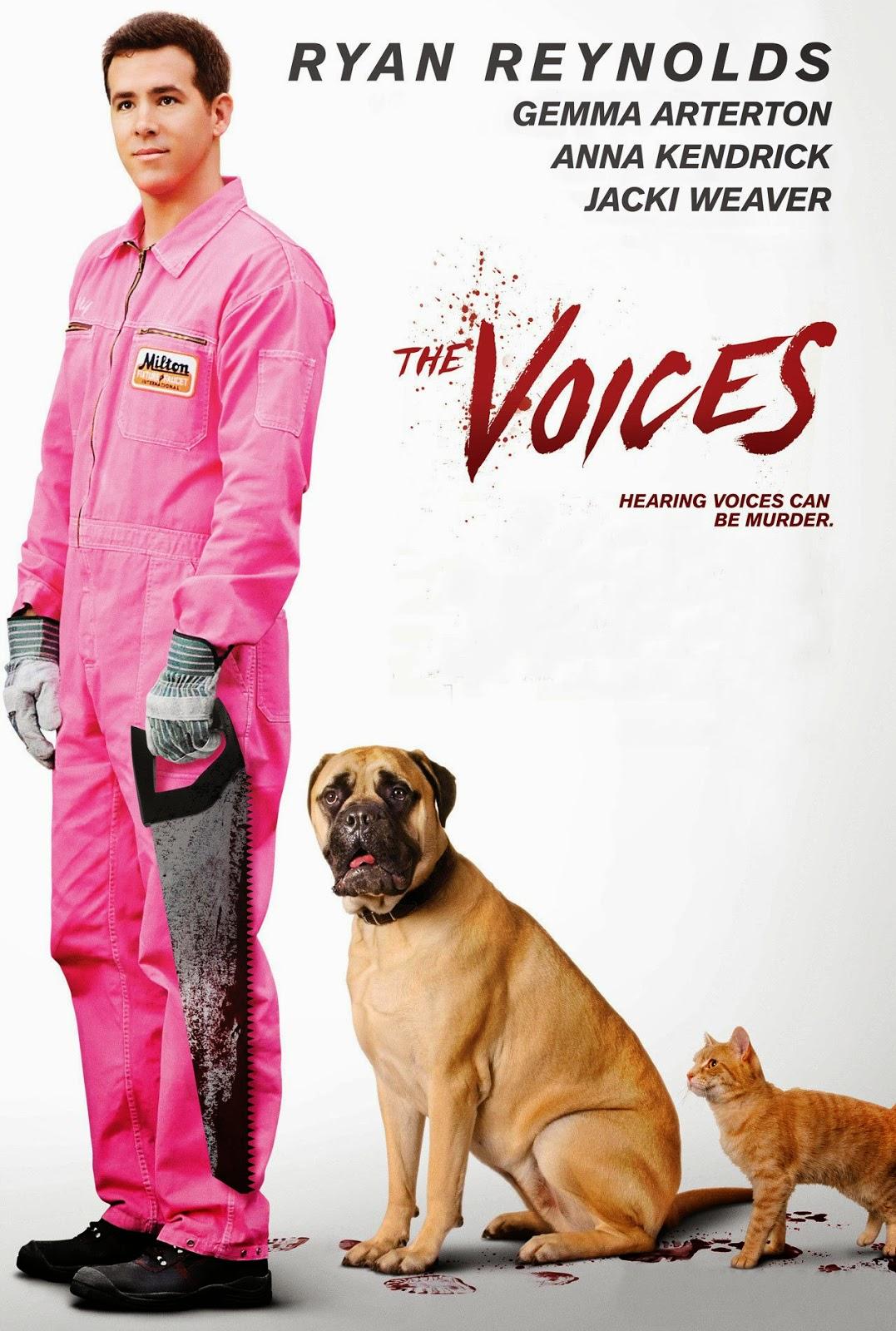 The Voices (BRRip 1080p Dual Latino / Ingles) (2014)