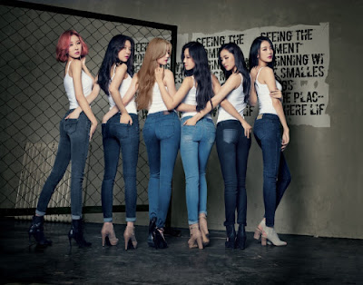 Dal Shabet Get Used Jeans Fall Winter 2015