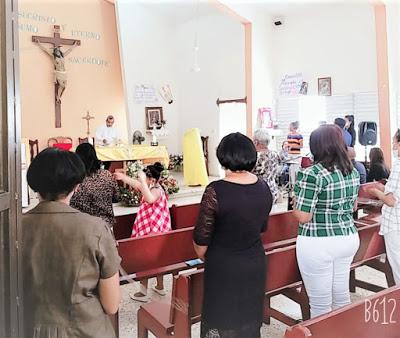 Bohechío: Iglesia celebra Día San Antonio de Padua con medidas sanitarias