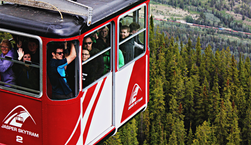 jasper skytram alberta rocky mountains travel photography