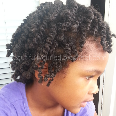 Beautifully Curled: The First Day Twist Out