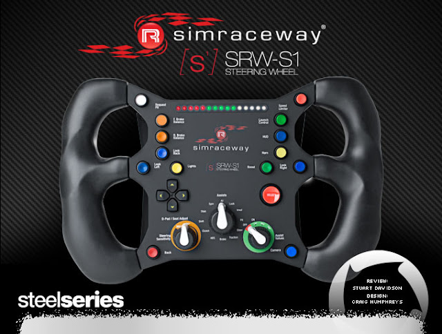 Volante rFactor 2 SteelSeries SRW en G25