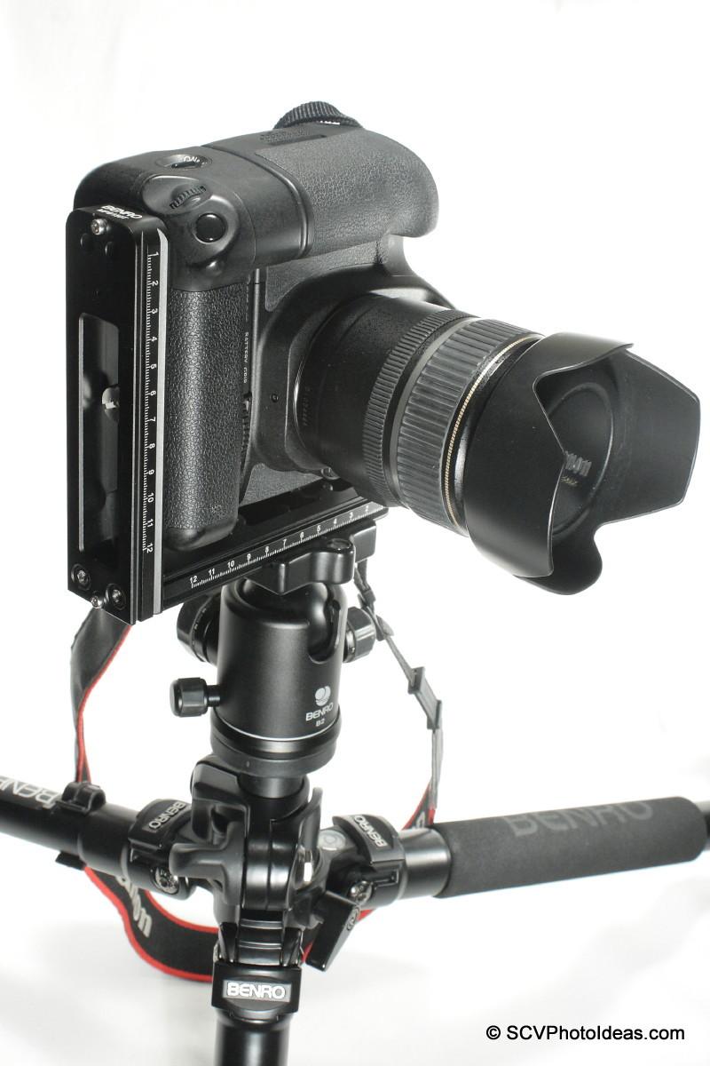 Benro MPB150T on Canon EOS 50D+BG-E2N portrait