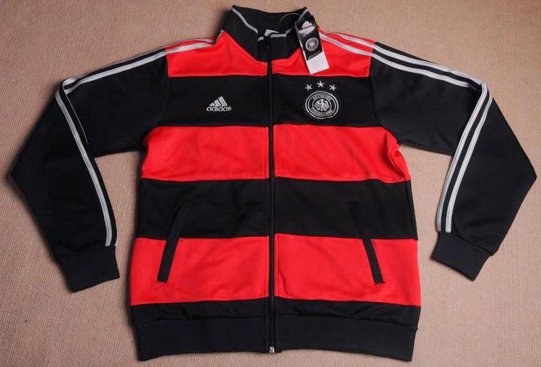 Jaket Tim Nasional Unggulan Jerman Away Piala Dunia 2014