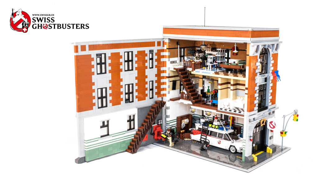 The Brickverse Ghostbusters Hq Gets To Lego Ideas Review