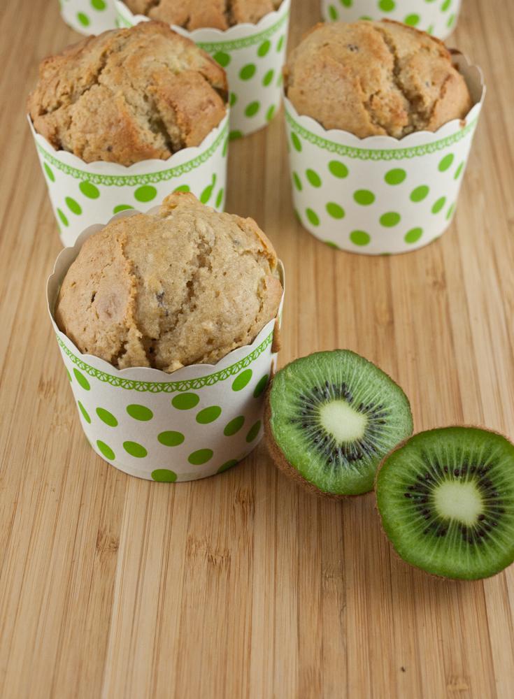 muffinki z kiwi przepis