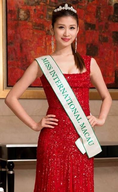 Miss International Macau 2013 Adela Ka Wai Sou