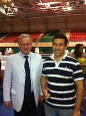 Con Mario Trapanni