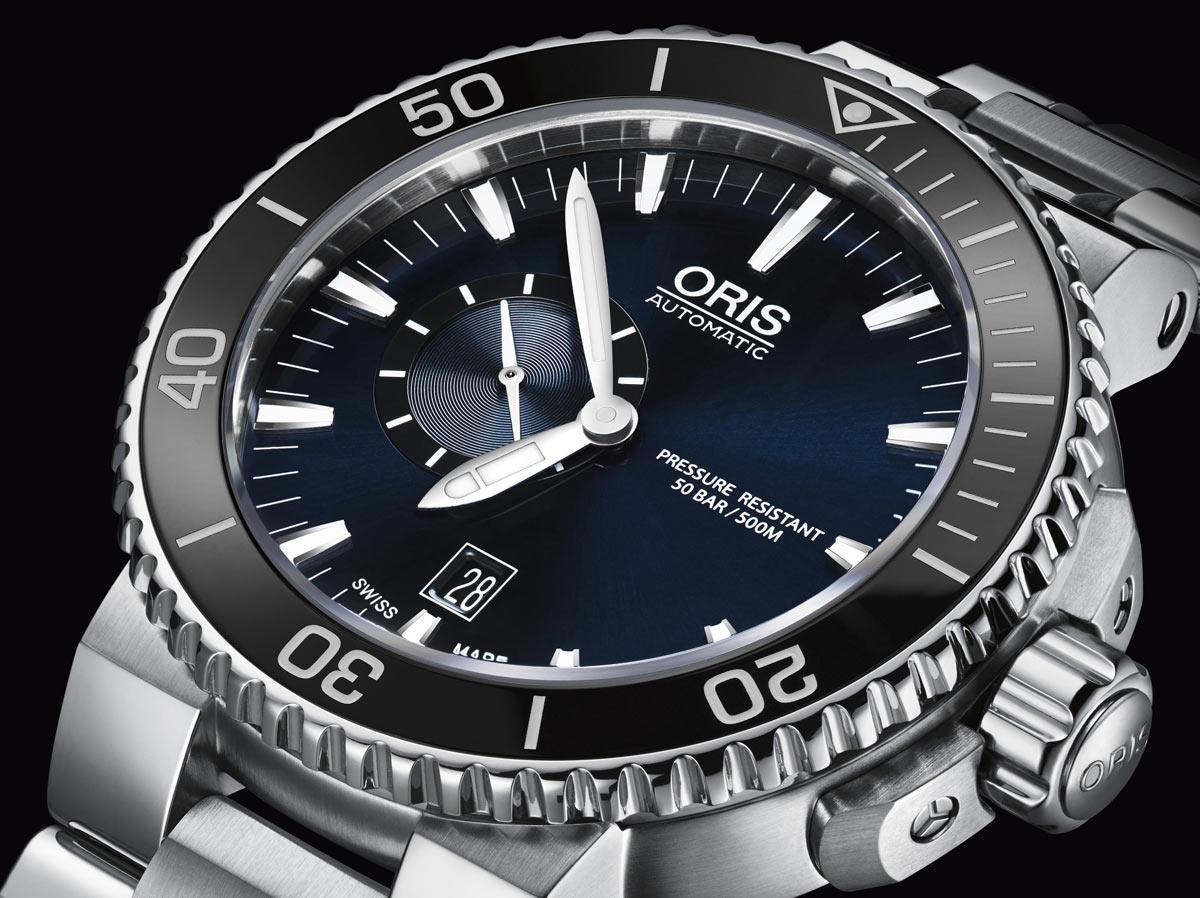 Oris Artelier Small Second, Date Mens watch, model number ...