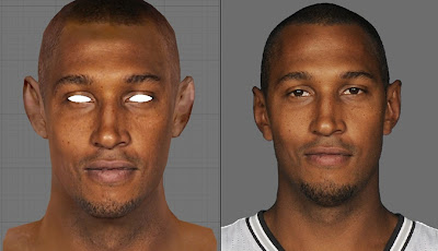 NBA 2K13 Boris Diaw Cyberface NBA2K Patch