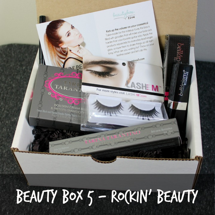 #BB5Limited Beauty Box 5 Rockin' Beauty (Limited Edition) review unboxing