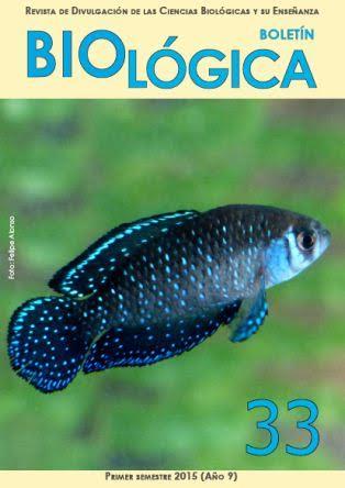 Salio Boletín Biológica N º 33