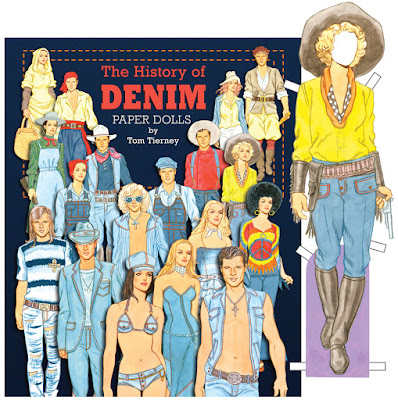 Tom Tierney's History of Denim Paper Dolls