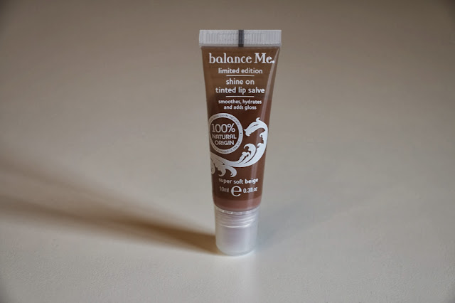 Balance Me Shine On Tinted Lip Salve