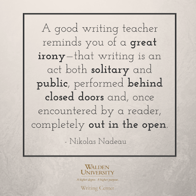 A good writing teacher... | Walden Writing Center Blog