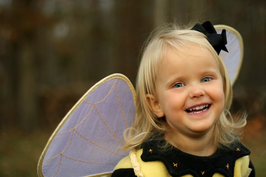 Toddler Bumble Bee Halloween