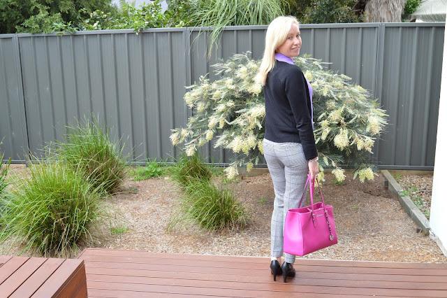 Sydney Fashion Hunter - Whatcha Wearing Wednesday #1 - Perfectly Plaid