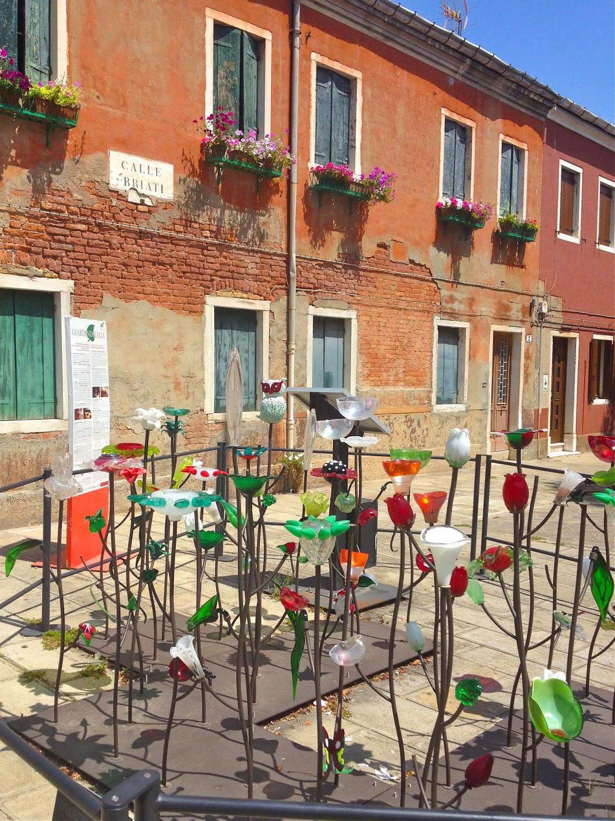 Calle Briati in Murano, Italy.