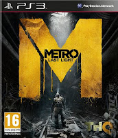 Metro last light for PS3 game download