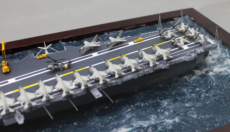 how to build a aircraft carrier model 1 700