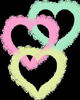 Herzen als PNG ohne Hintergrund