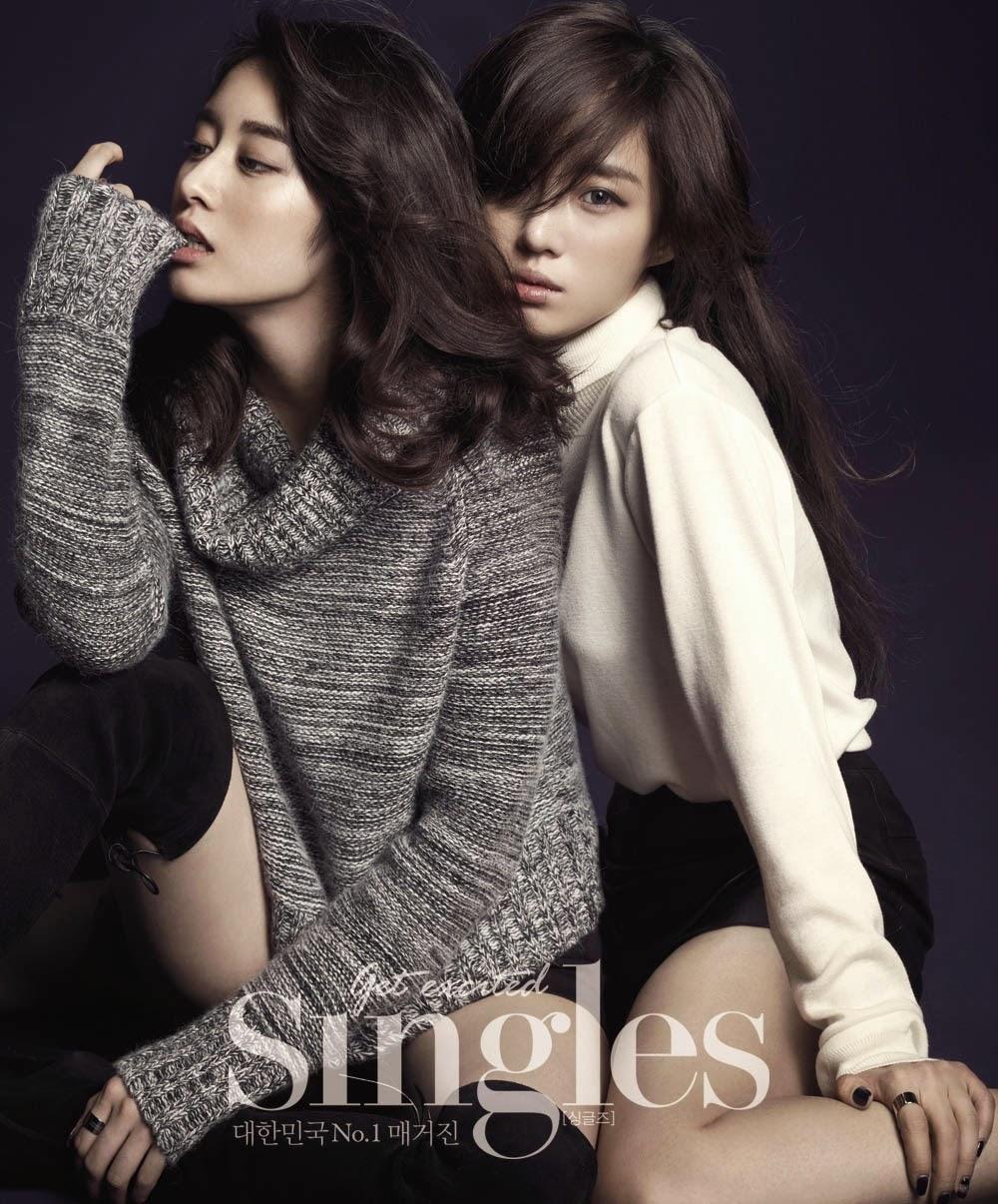 Eunjung Hyomin Jiyeon T-ara Singles Magazine November Issue 2014