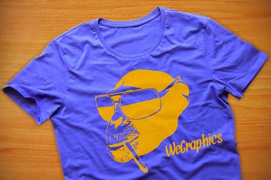 funny Monkey T-Shirt illustration