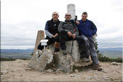 Amaritu mendiaren gailurra 787 m. - 2011ko martxoaren 27an