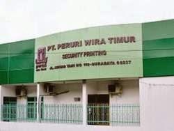 PT Peruri Wira Timur - Recruitment For SMA, SMK, S1 Staff PERURI Group April 2015