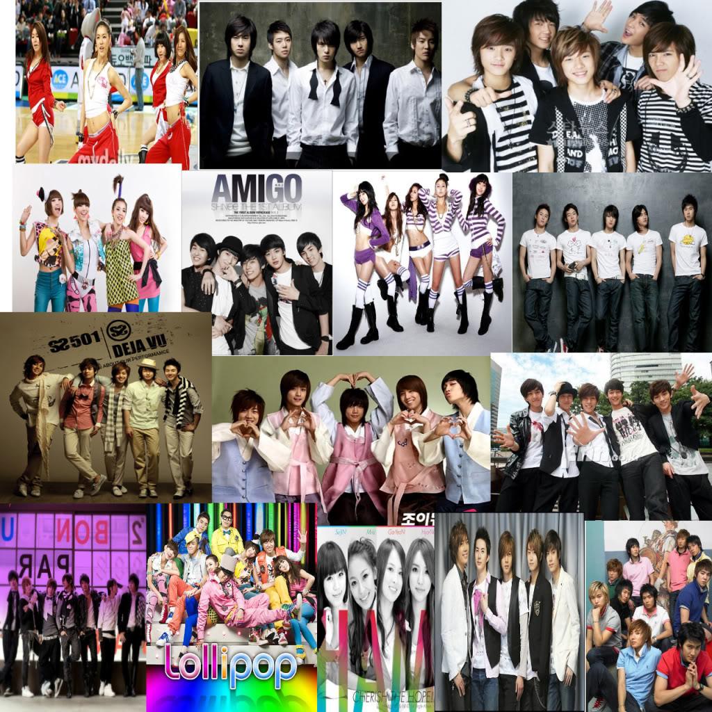 Sejarah musik k pop