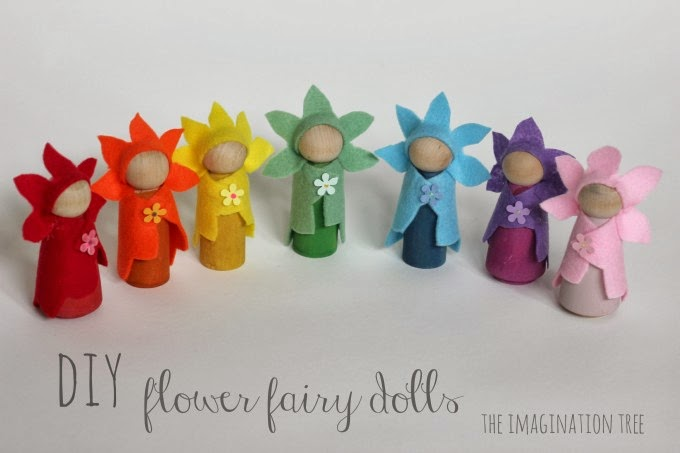 DIY Flower Fairy Dolls 680 x 453