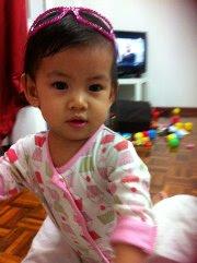 Eryna @ 13-month (7.2kg)