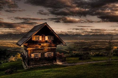 Casita romántica en el prado - Romantic house cottage