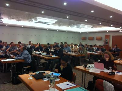Na conferência europeia para a segurança e saúde no trabalho onde represento a CGTP-IN a decorrer em Budapeste, Hungria.