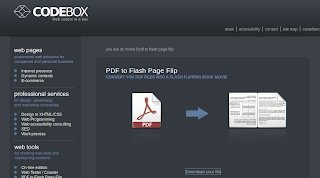 Convert pdf to Page flip flash books