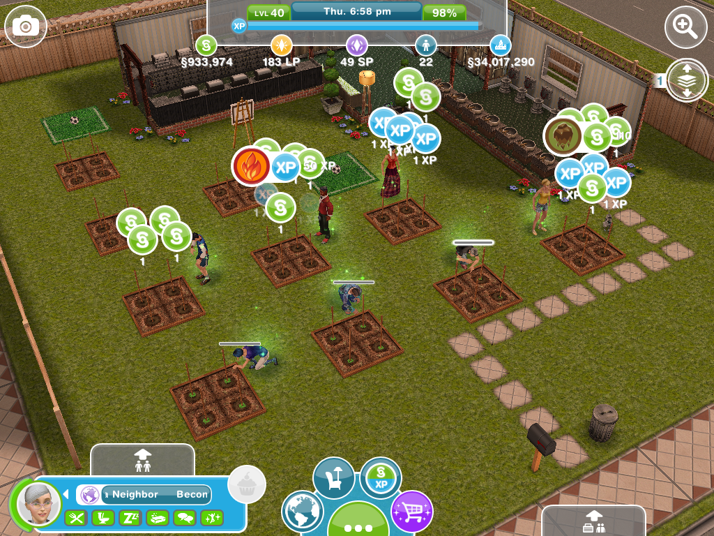 riches of terra sims freeplay level 1