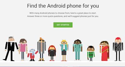 Bingung Memilih Smartphone Android? Pakai Alat Google! ini