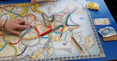 Ticket To Ride board and carriages review