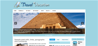 Travel Vacation Blogger Template is a 3 column and travel related template. its good for travel blog