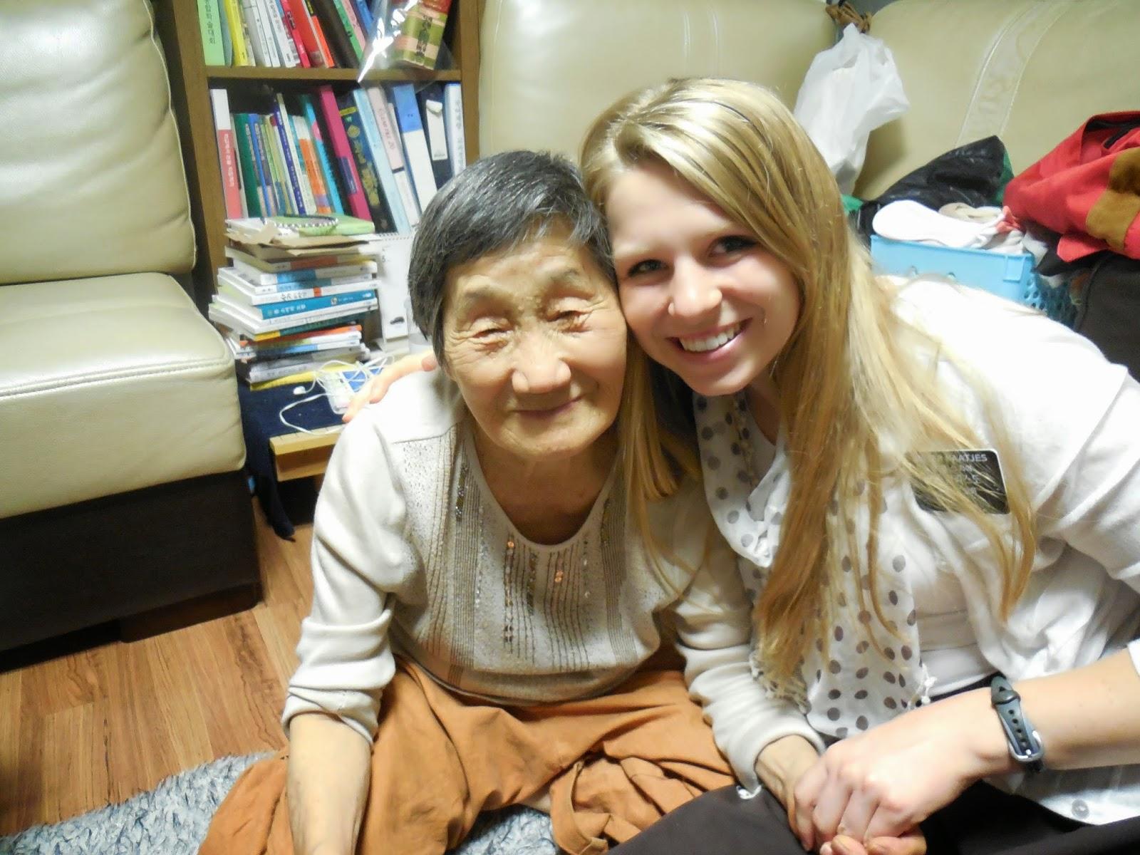 One of my new favorite grandmas :)