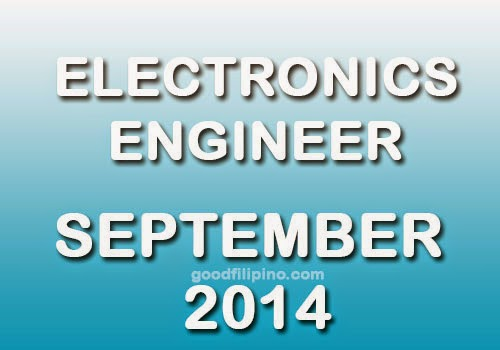 Electronics Engineering (ECE) Board Exam for September 2014