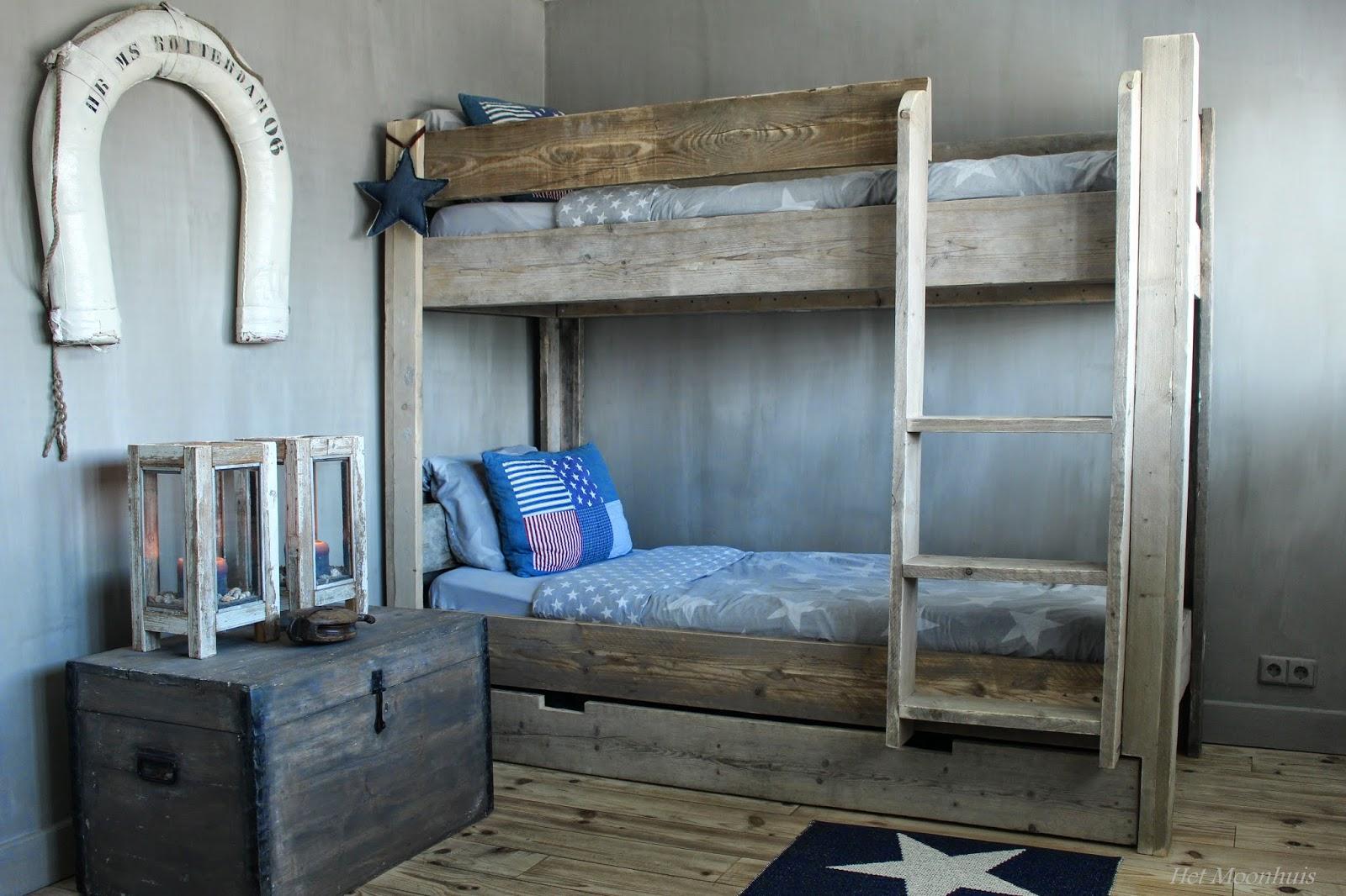 Het moonhuis stoere jongenskamer - Jongens kamer decoratie ideeen ...