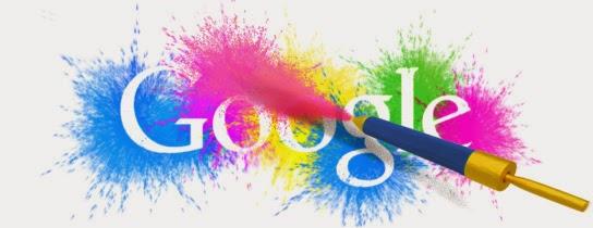 Google Doodle Holi 2014