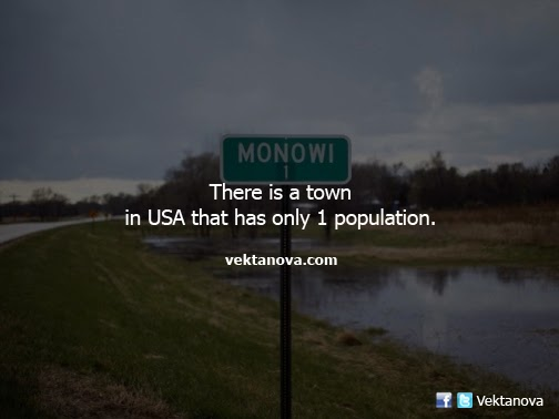 There is a Town in USA that Has Only 1 Population