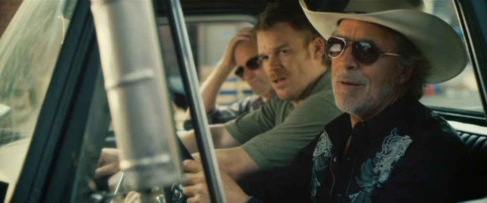 Sam Shepherd, Michael C. Hall, and Don Johnson in Cold in July