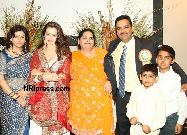 Amisha Patel at Independence Day Festival in Los Angeles
