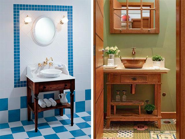 Inspiração aparador para pia do banheiro  Vida Louca de Casada  Blog sobre -> Pia Para Banheiro De Louca