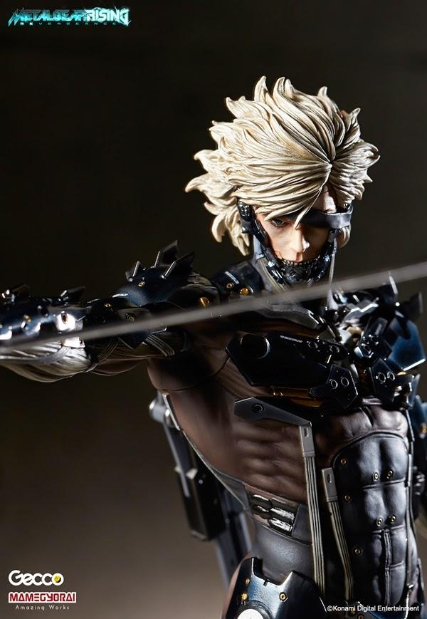 Raiden da Metal Gear Rising della Gecco